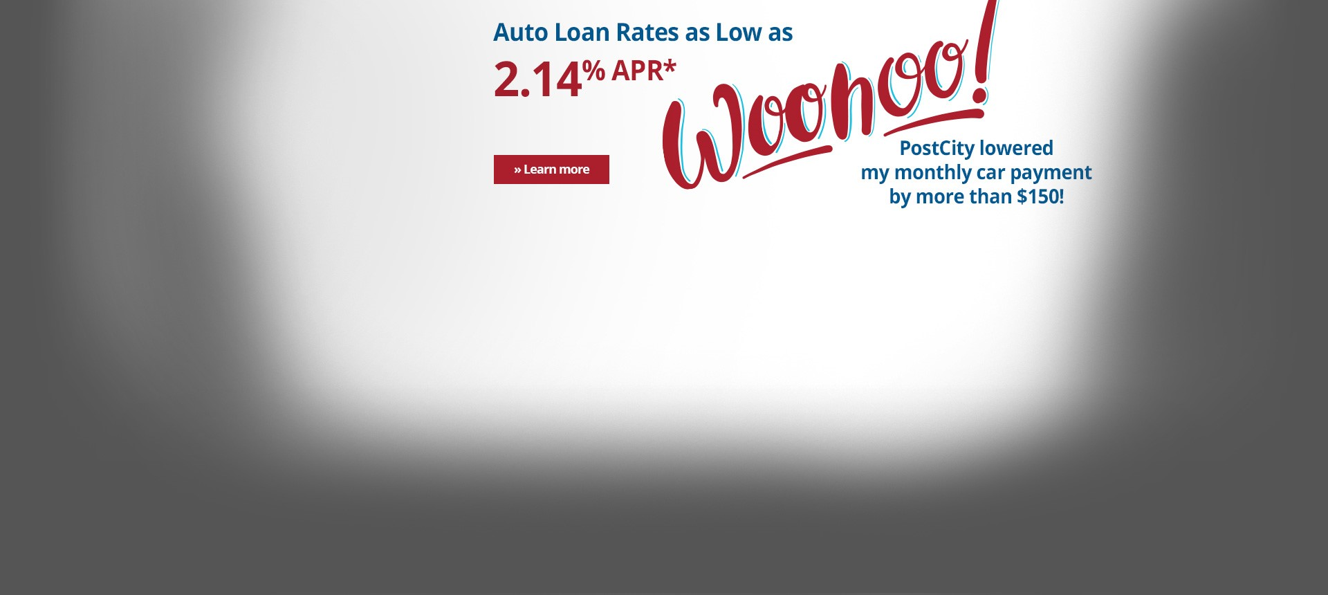Auto Loans Available at PostCity!