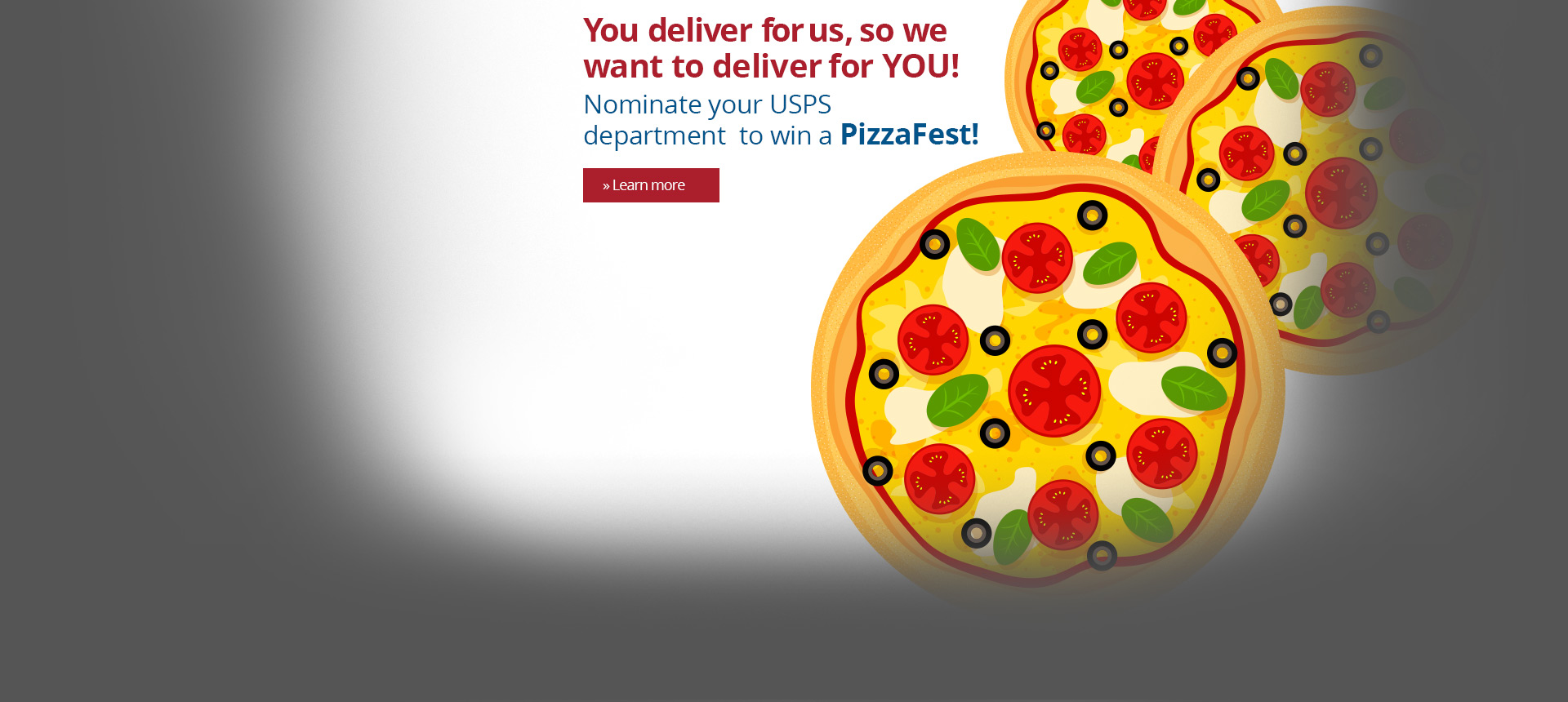 PizzaFest is coming to our essential USPS workers!