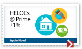 HELOCs at Prime + 1%