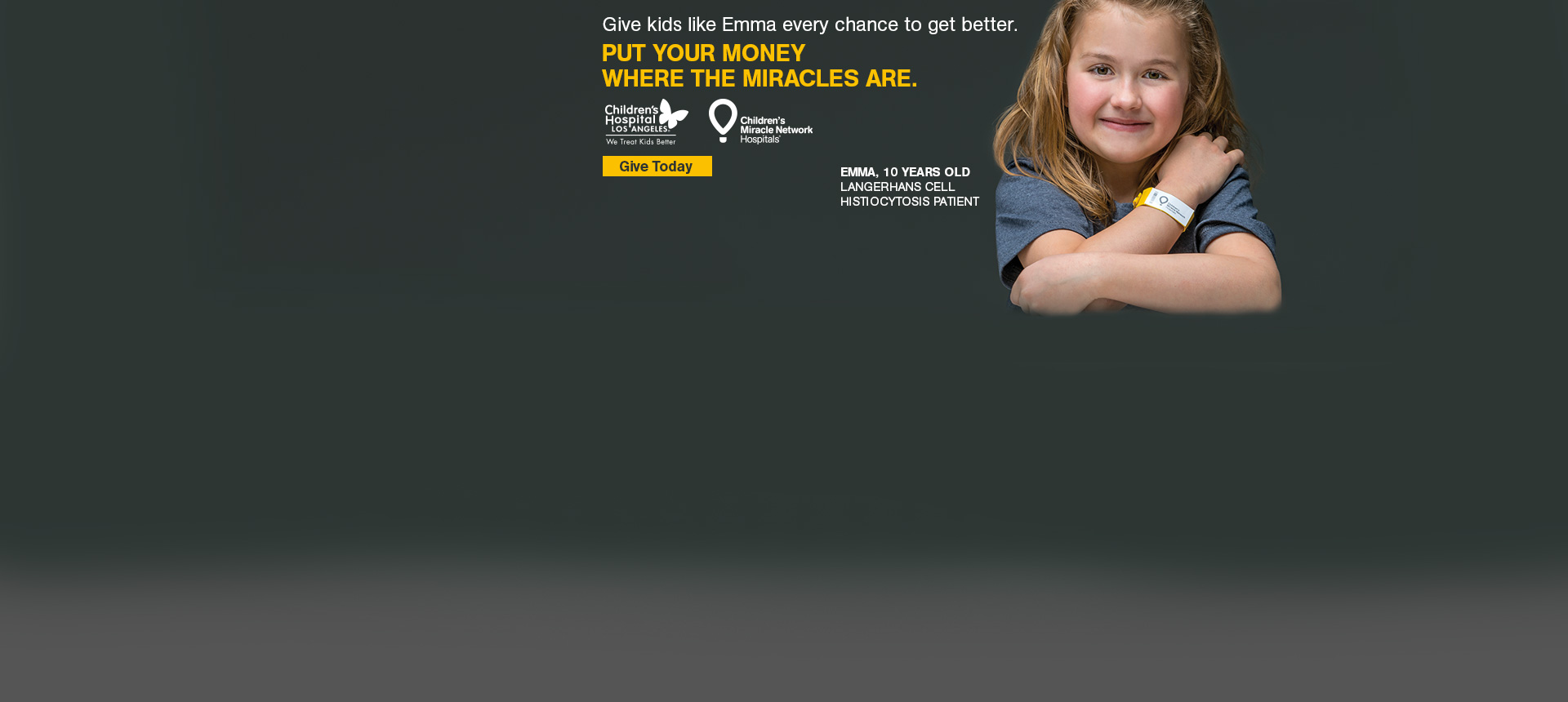 CMN and CHLA - Donate Today