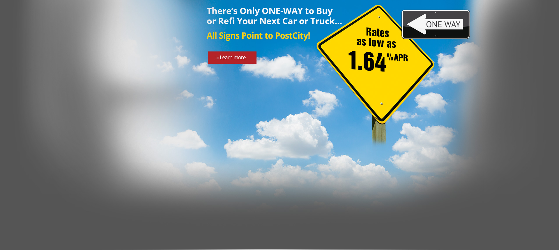 Auto Loans One Way with PostCity