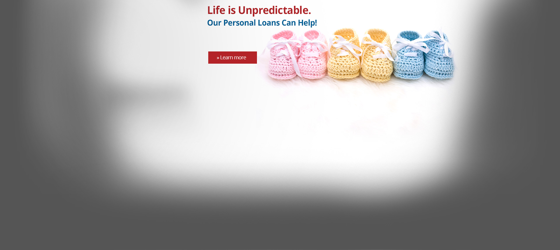 Life is Unpredictable Personal Loans